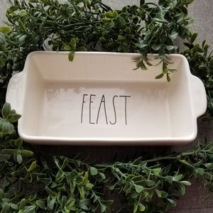 Rae Dunn FEAST loaf baking pan